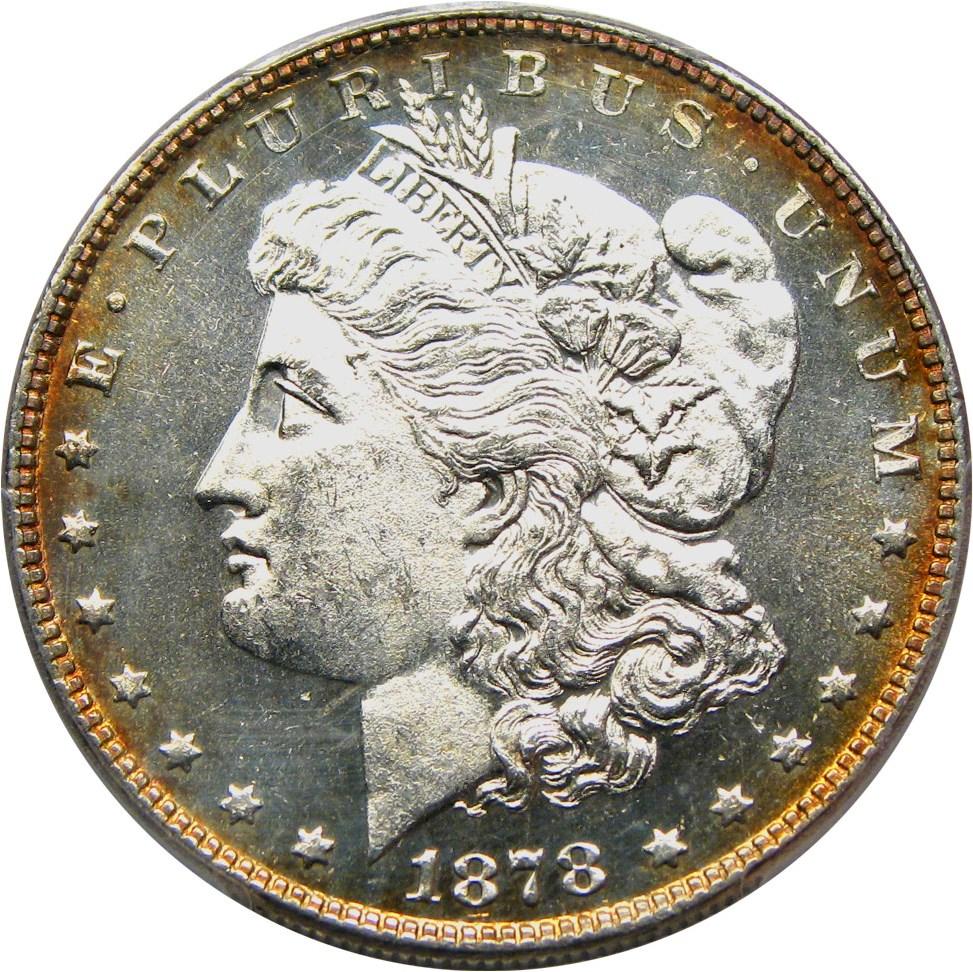 sample image for 1878 7TF Reverse of 1878 $1  MS VAM-84 Line Under 8