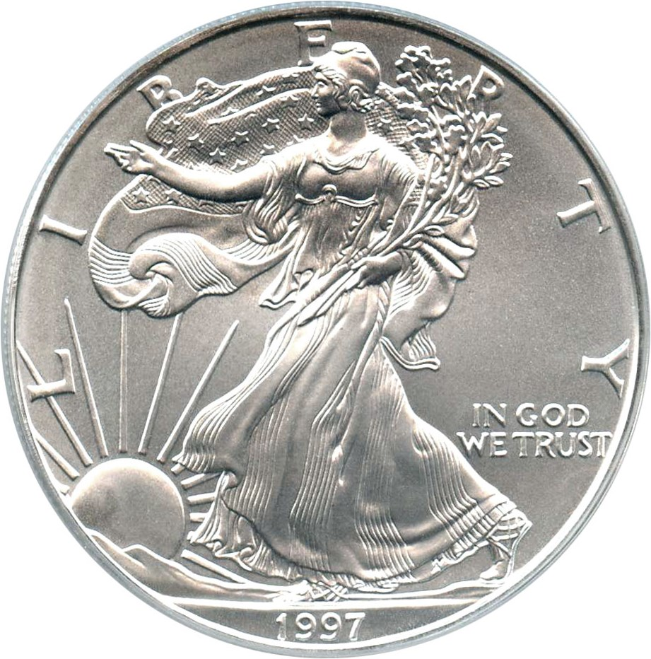 sample image for 1997 Silver Eagle $1  MS