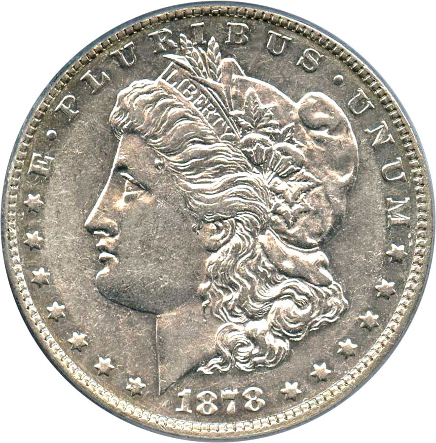 sample image for 1878 7TF Reverse of 1878 $1  MS VAM-187, Doubled R