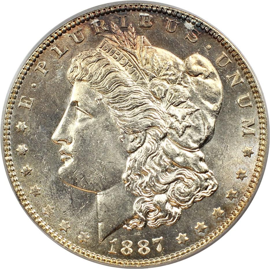 sample image for 1887 $1  MS VAM-2, 7/6