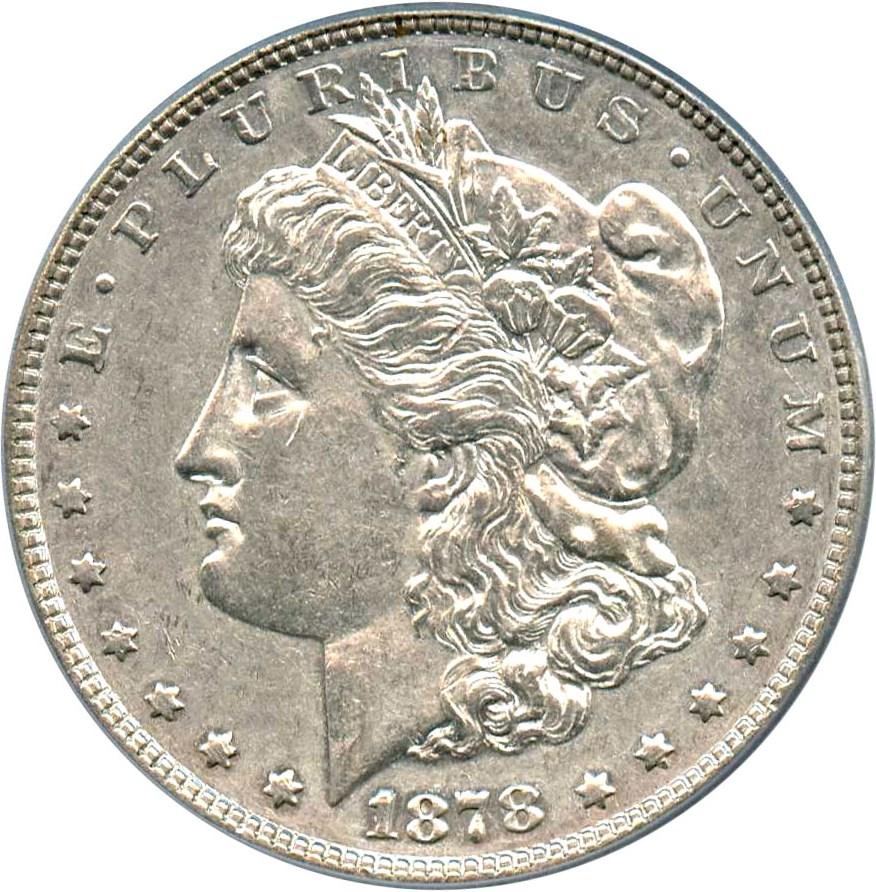 sample image for 1878 7TF Reverse of 1878 $1  MS VAM-145, Broken N&M