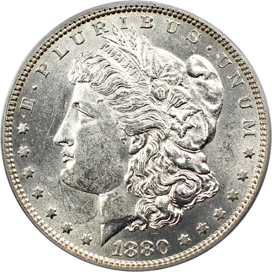 sample image for 1880 $1  MS VAM-16, Checkmark