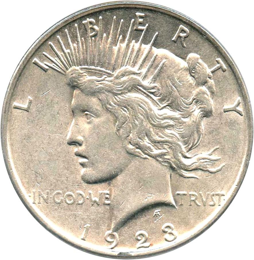sample image for 1923-D VAM-2 Doubled Eagle Head