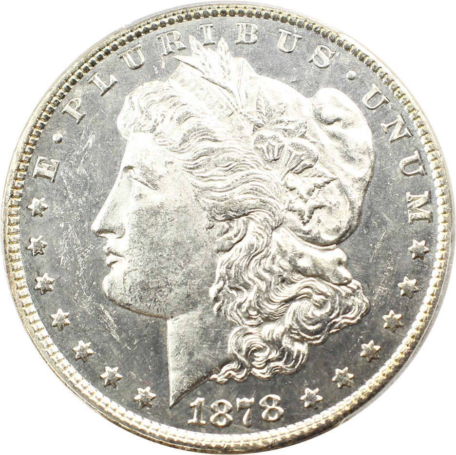 sample image for 1878 8TF $1  MS VAM-15, Doubled Liberty