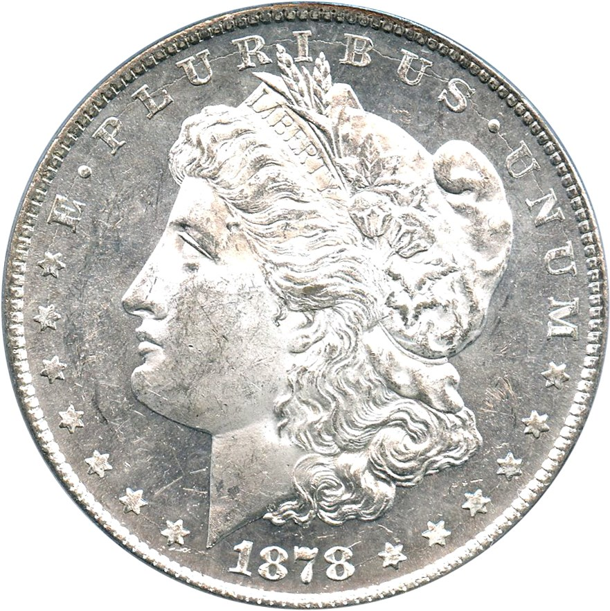 sample image for 1878 8TF $1  MS VAM-5, Doubled RIB