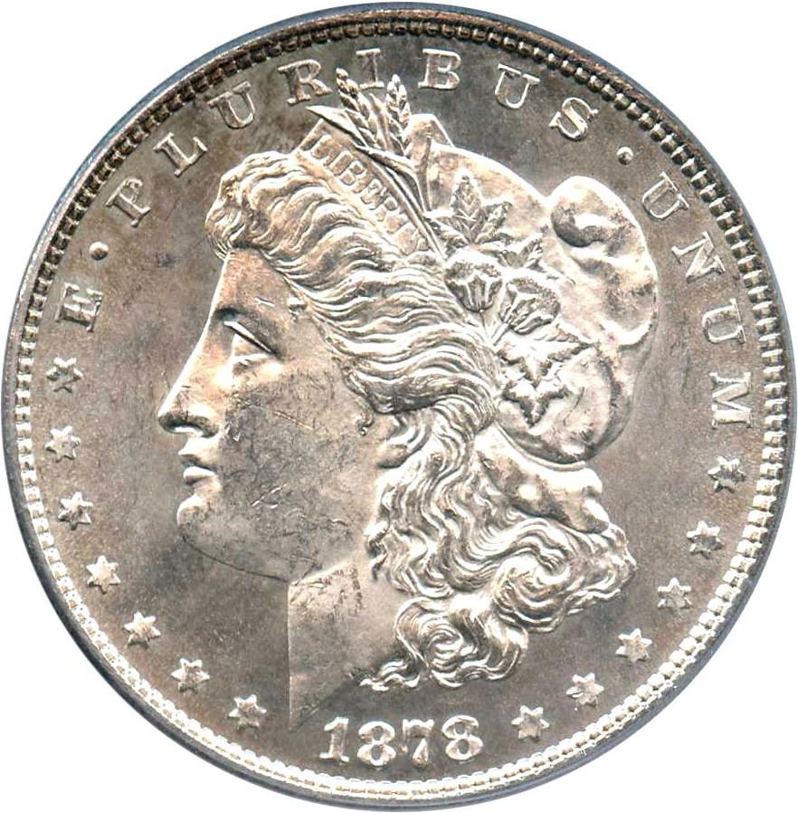 sample image for 1878 8TF $1  MS VAM-2, Lines in LIB