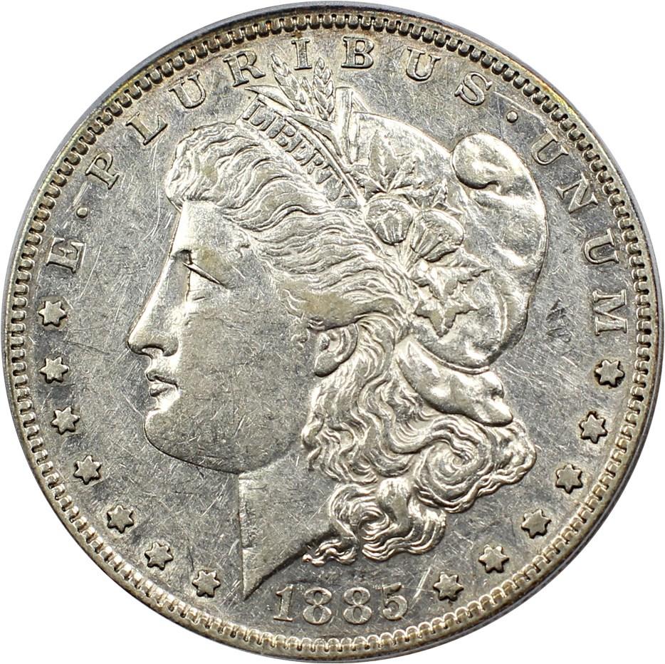 sample image for 1885-S $1  MS VAM-6, S/S