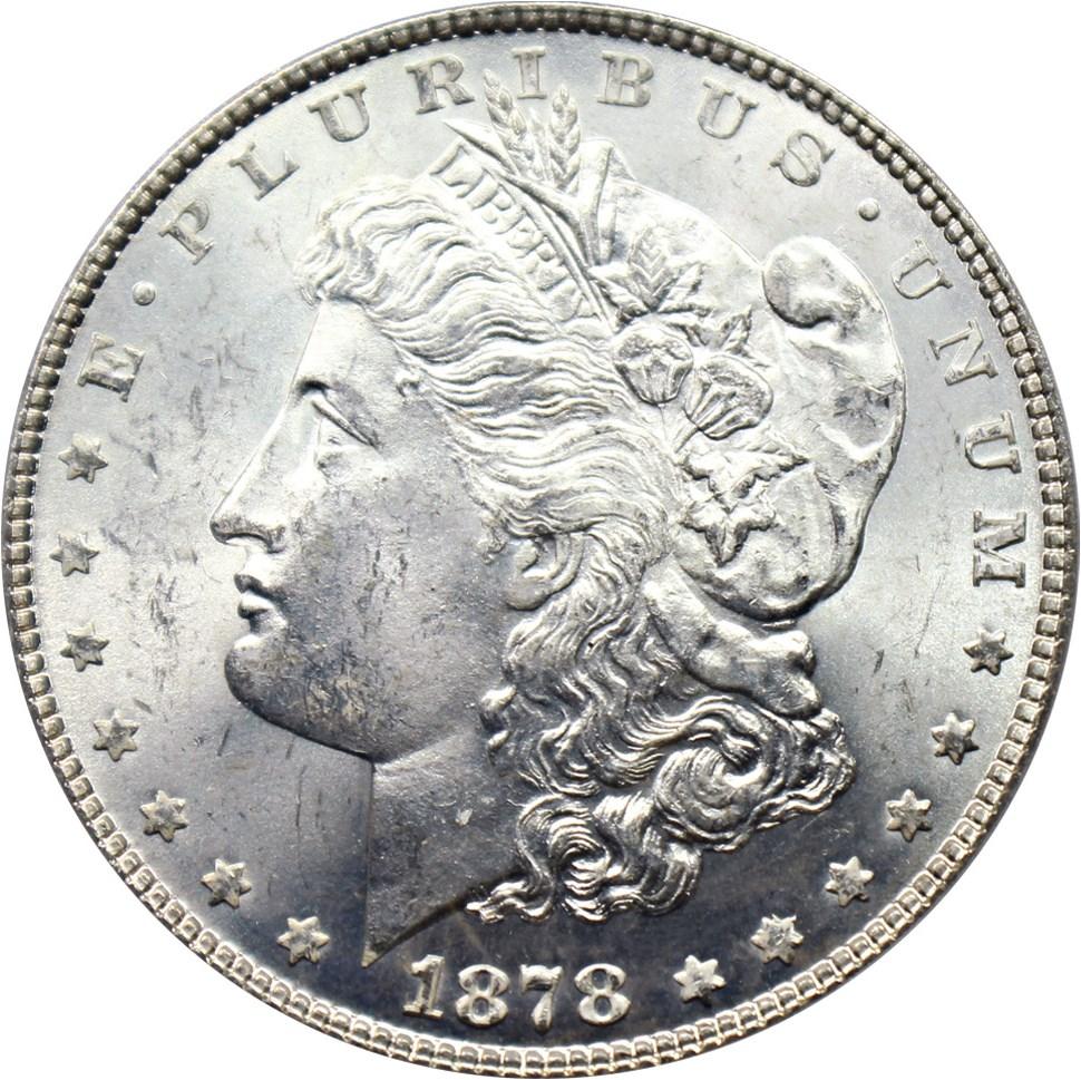 sample image for 1878 7TF Reverse of 1878 $1  MS VAM-141 Tripled Star