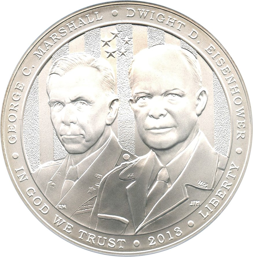 sample image for 2013-W 5 Star Generals $1  MS