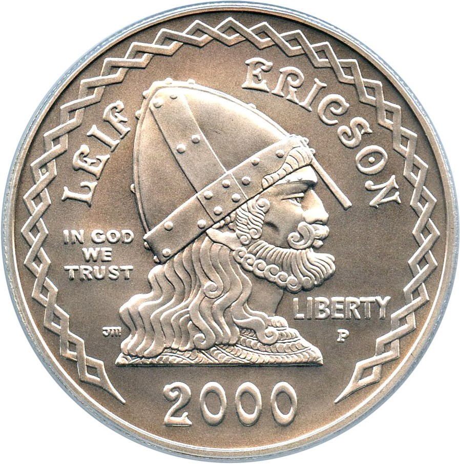 sample image for 2000-P Leif Ericson $1  MS