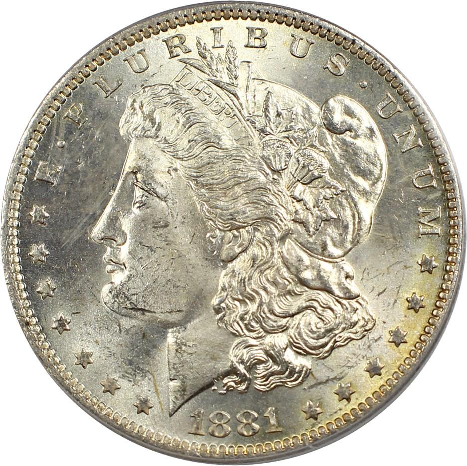 sample image for 1881-O $1  MS VAM-5, O/O