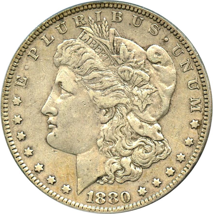 sample image for 1880 $1  MS VAM-7, 8/7, Crossbar