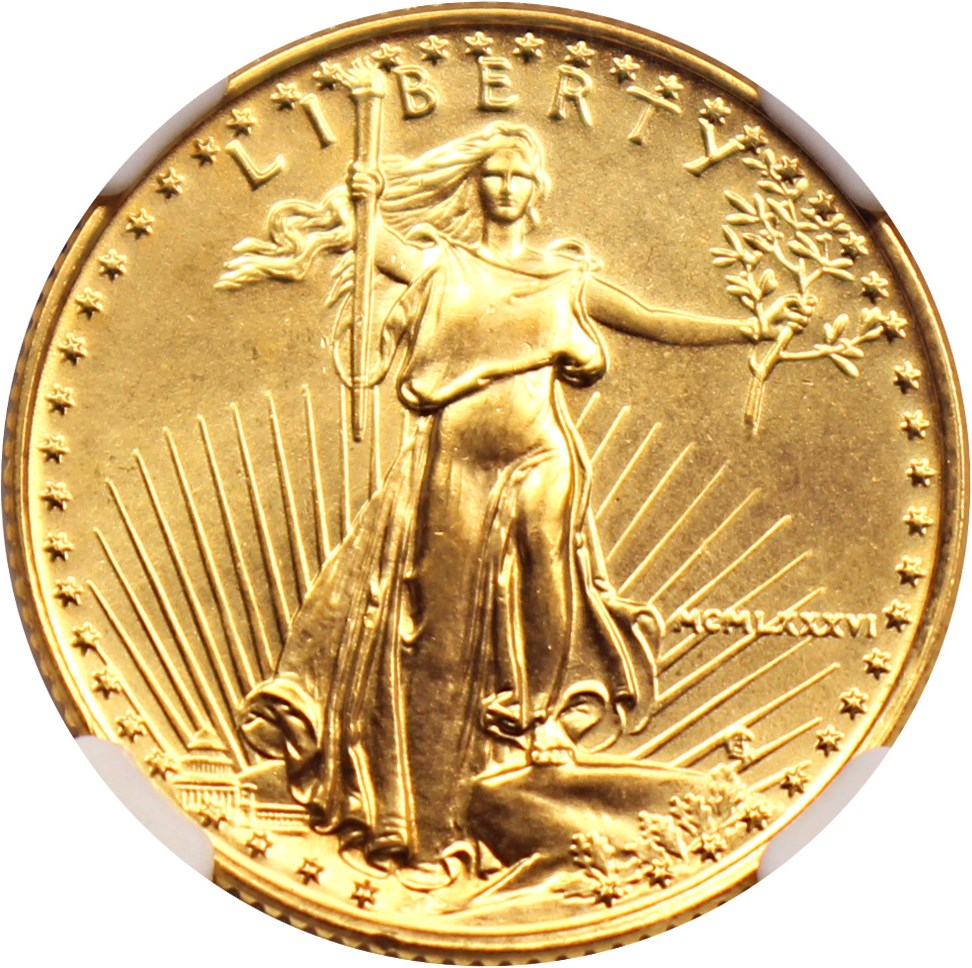sample image for $10 Gold Eagle MS [Type]