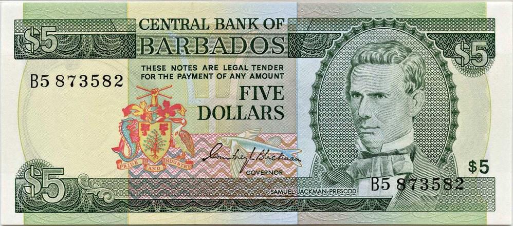 p-31a Barbados: Nd Pmg 65 Epq 1973