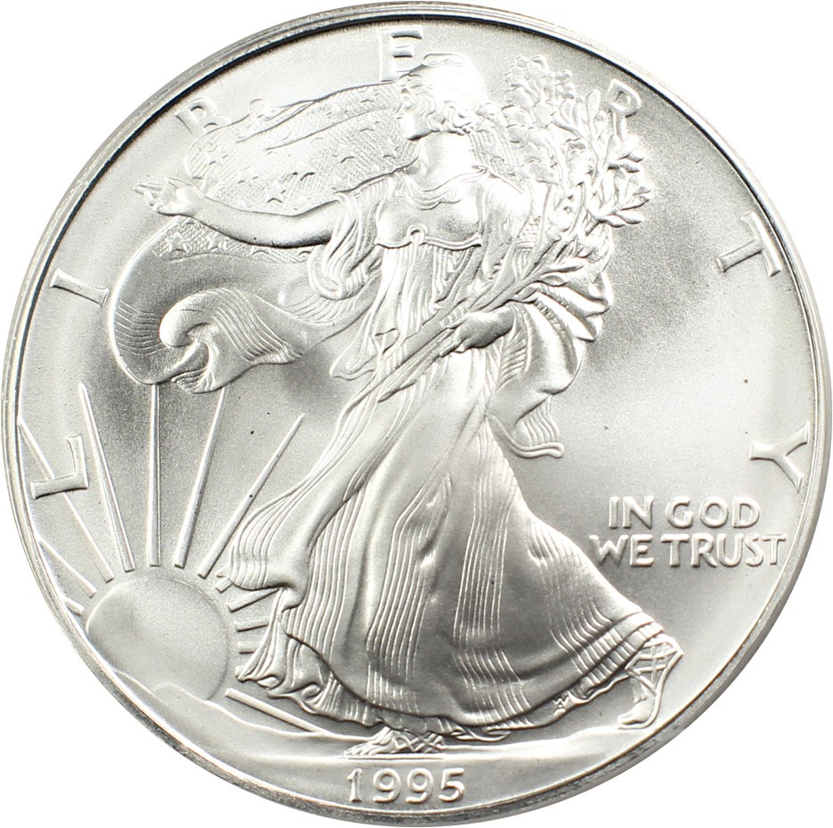 sample image for 1995 Silver Eagle $1  MS
