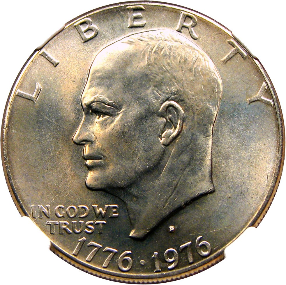 sample image for 1976-D $1  MS Type 2
