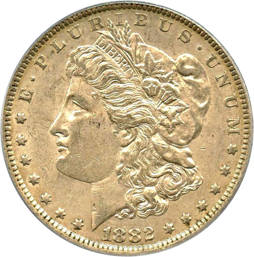 sample image for 1882-O $1  MS VAM-5, O/S Broken
