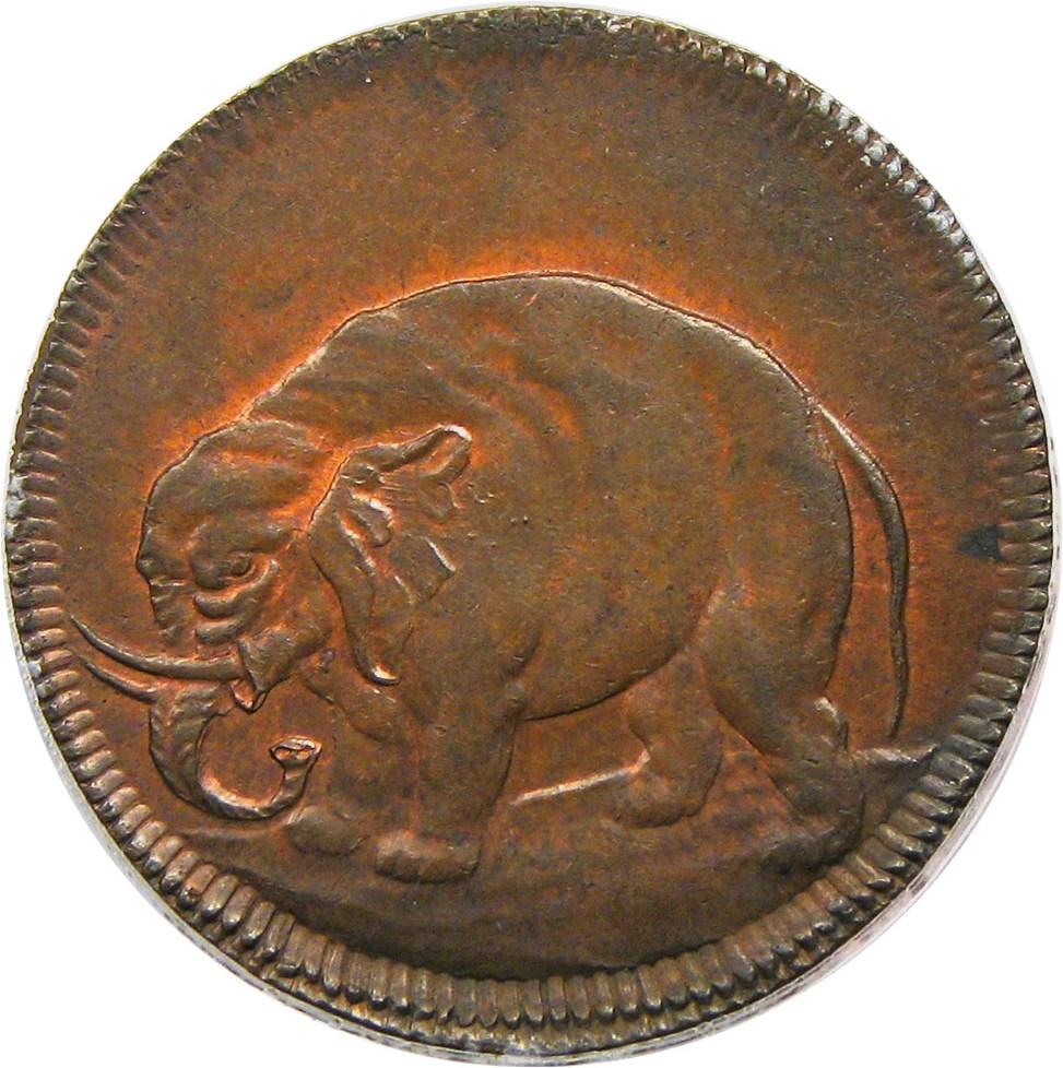 sample image for (1694) Elephant Token, LONDON BN