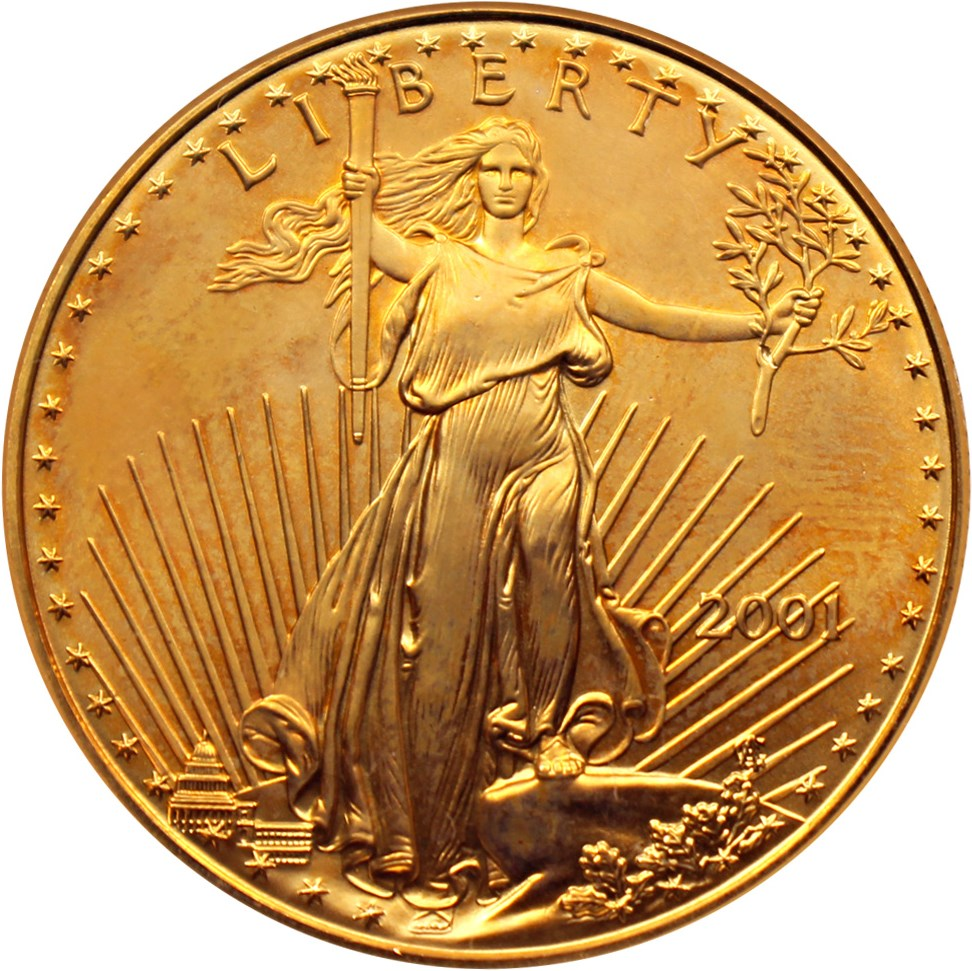 sample image for 2001 Gold Eagle $50  MS