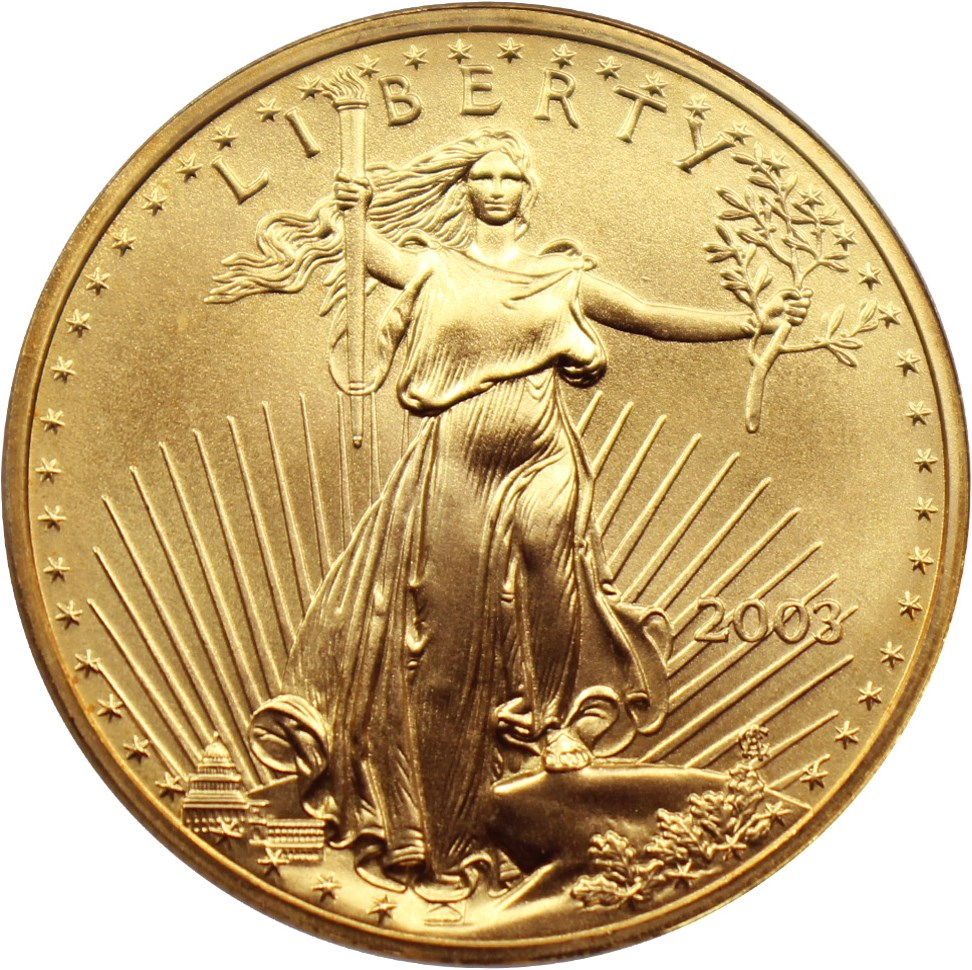 sample image for 2003 Gold Eagle $50  MS