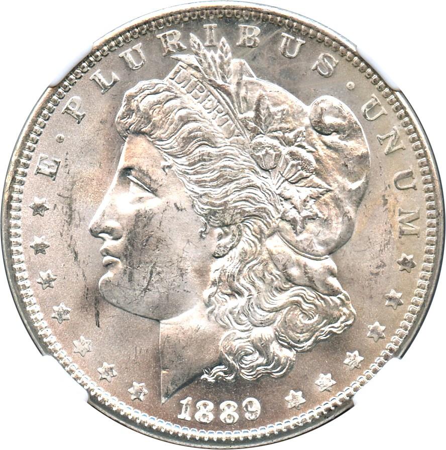 sample image for 1889 $1  MS VAM-20, Doubled Ear