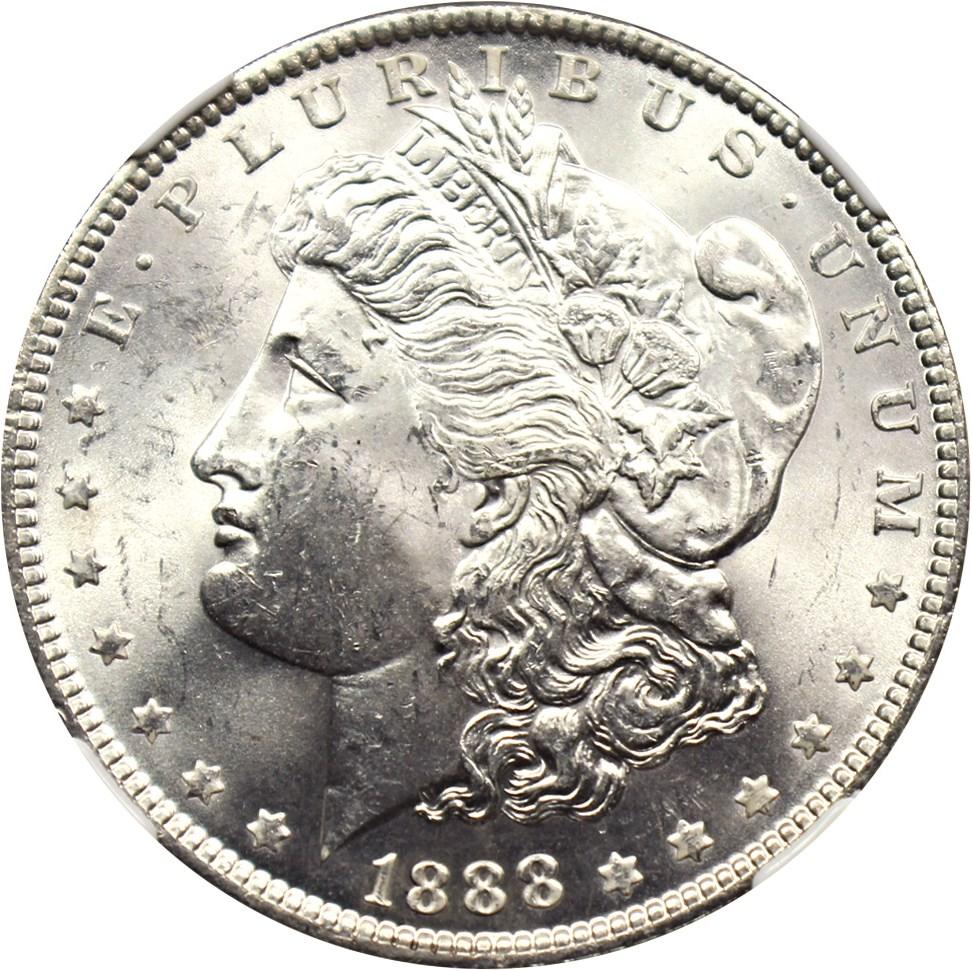 sample image for 1888 $1  MS VAM-18, Doubled Eyelid
