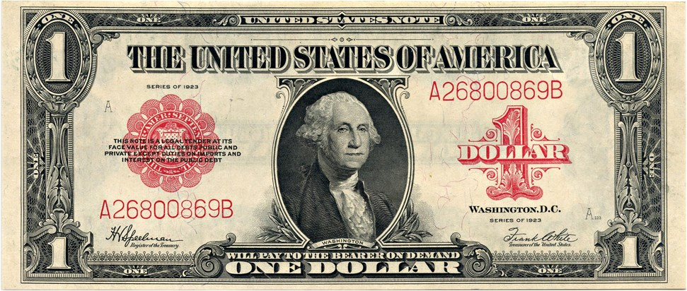 sample image for 1923 $1  (Fr.# 40)