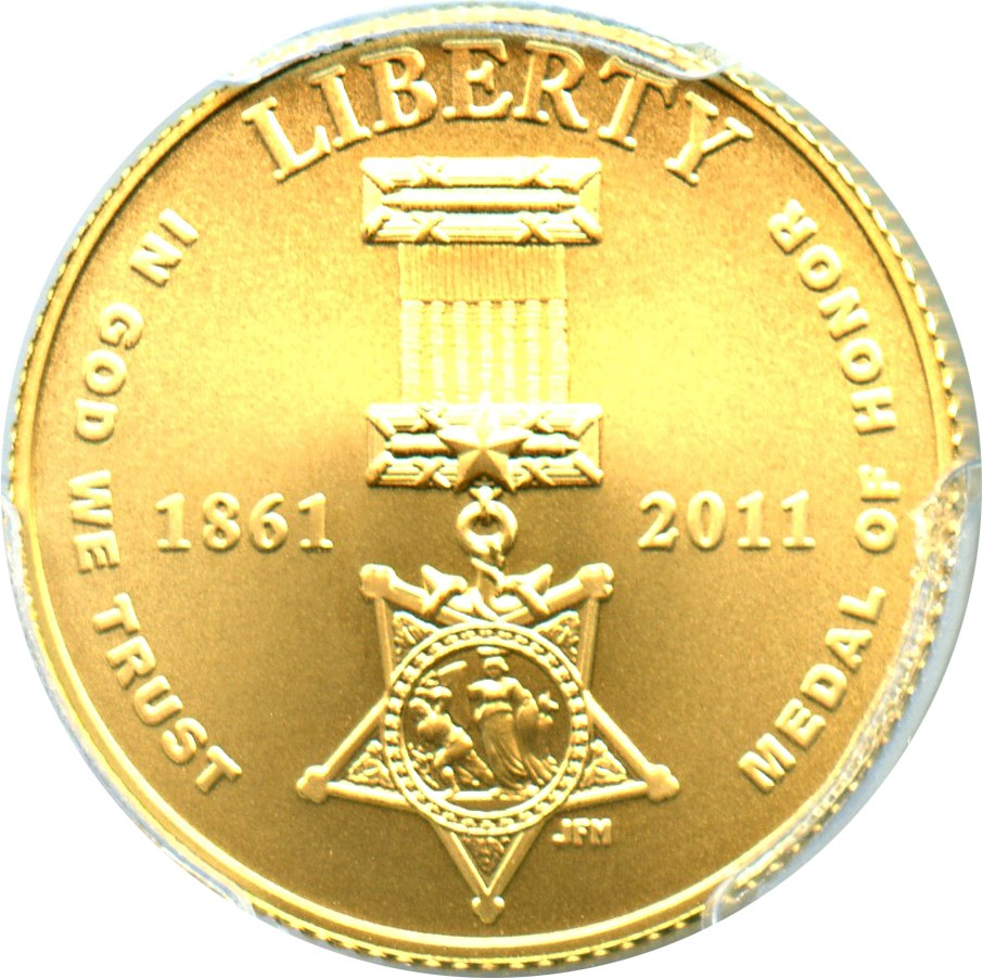 sample image for 2011-P United States Army $5  MS