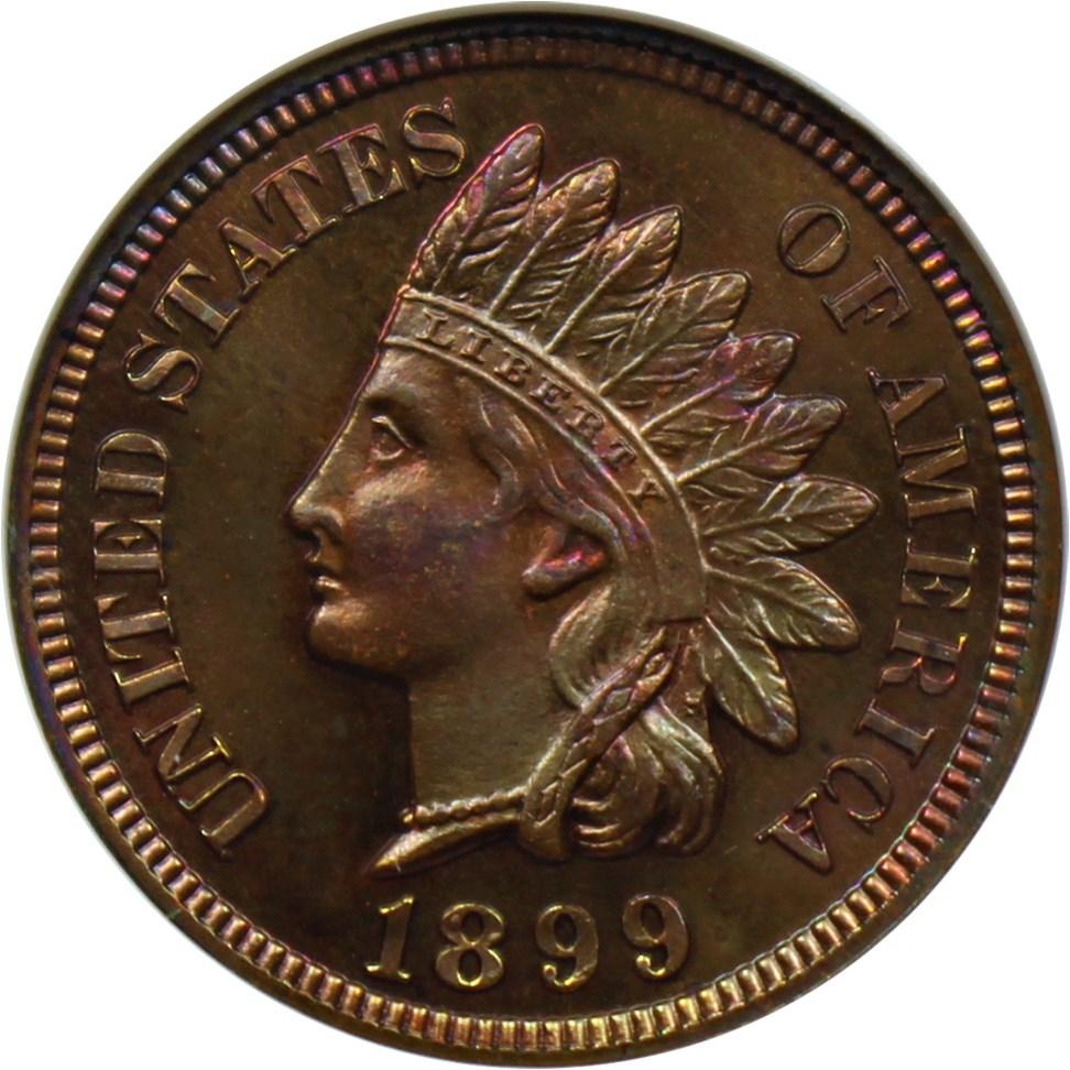 sample image for 1899 1c PR BN