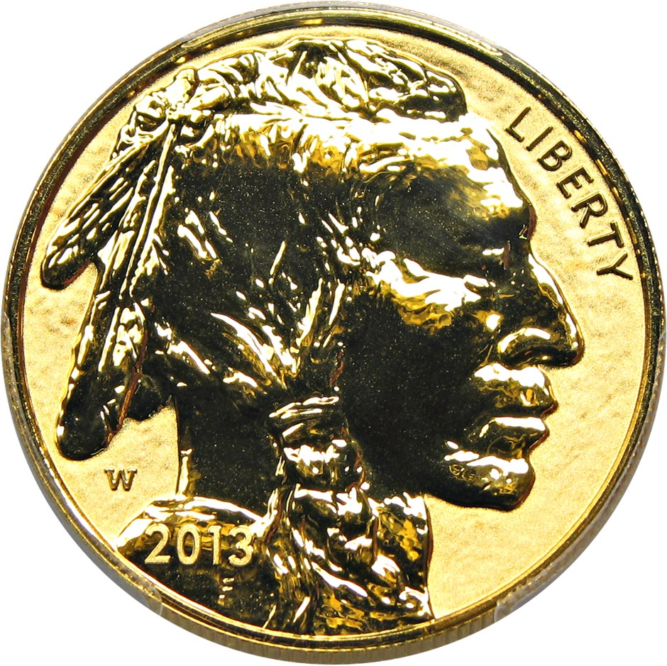sample image for 2013-W American Buffalo $50  PR DCAM Reverse Proof