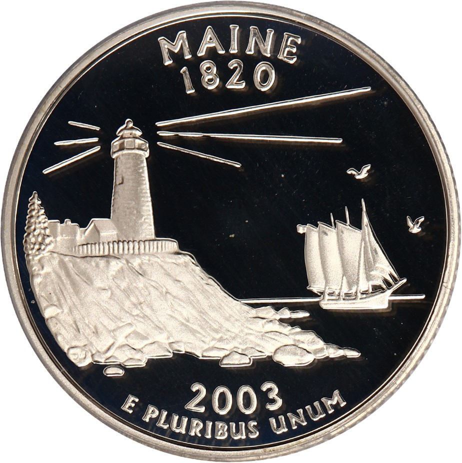 sample image for 2003-S Maine, Silver DCAM