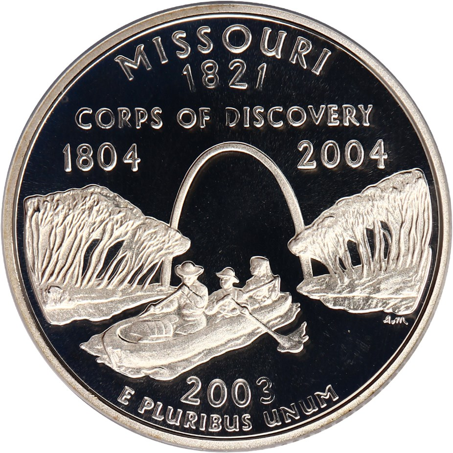 sample image for 2003-S Missouri, Silver DCAM