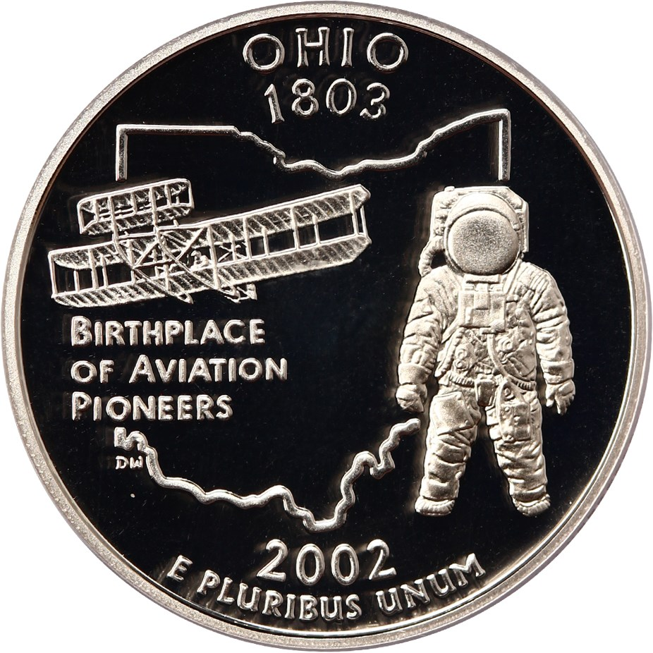 sample image for 2002-S Ohio, Silver DCAM