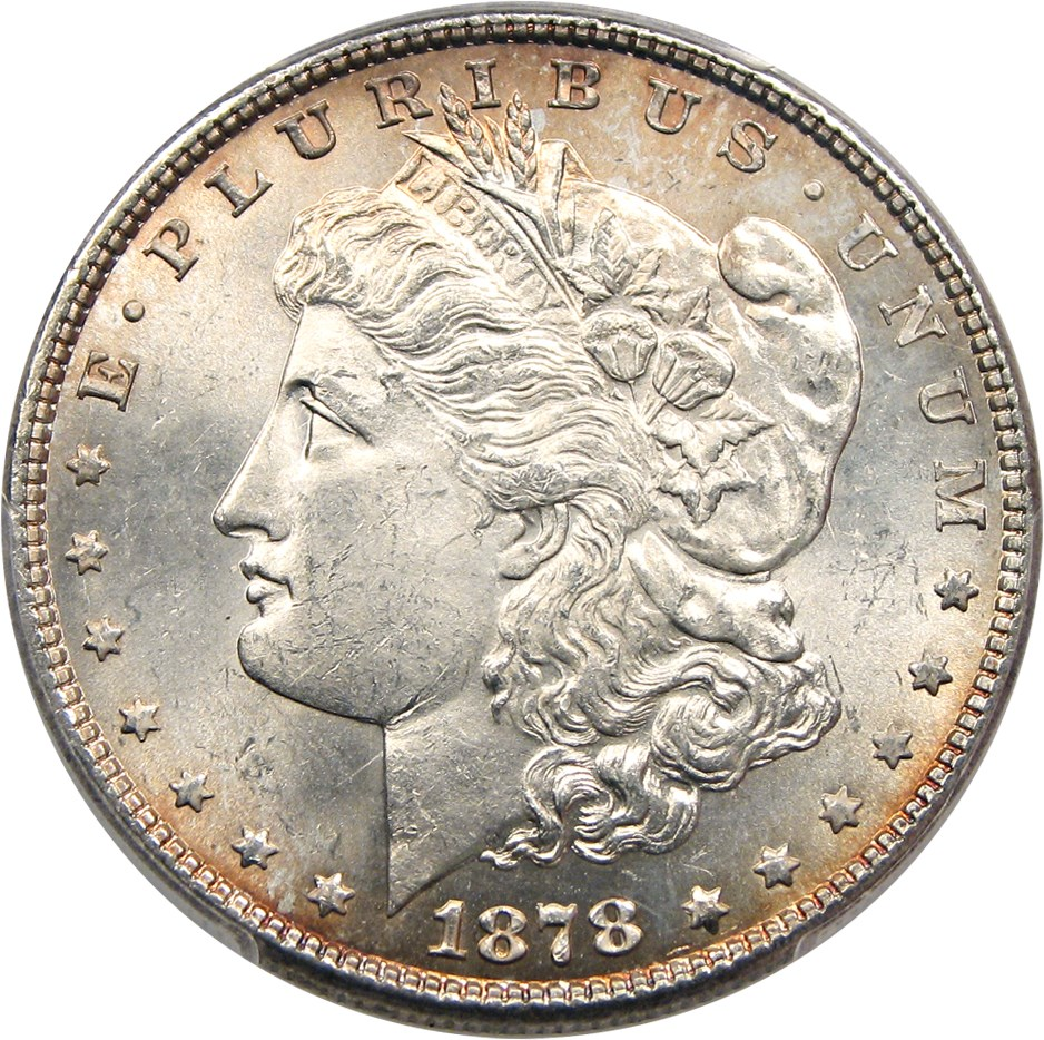 sample image for 1878 7/8TF Strong $1  MS VAM-42, 7/7