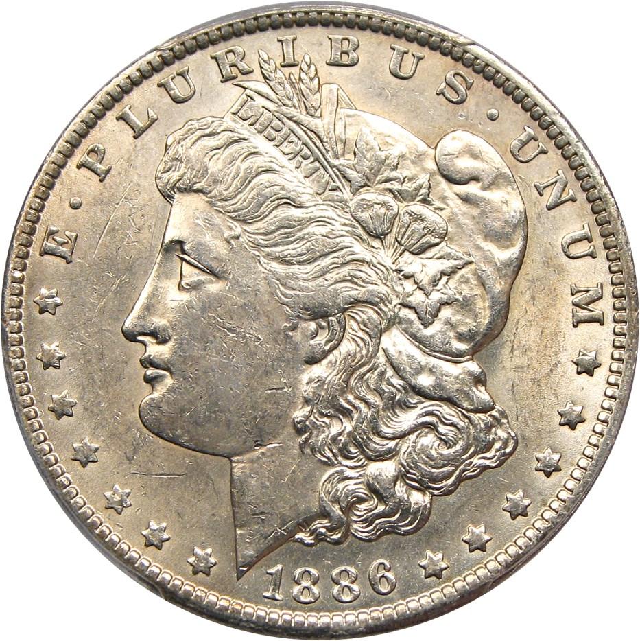 sample image for 1886-O $1  MS VAM-7, O/O
