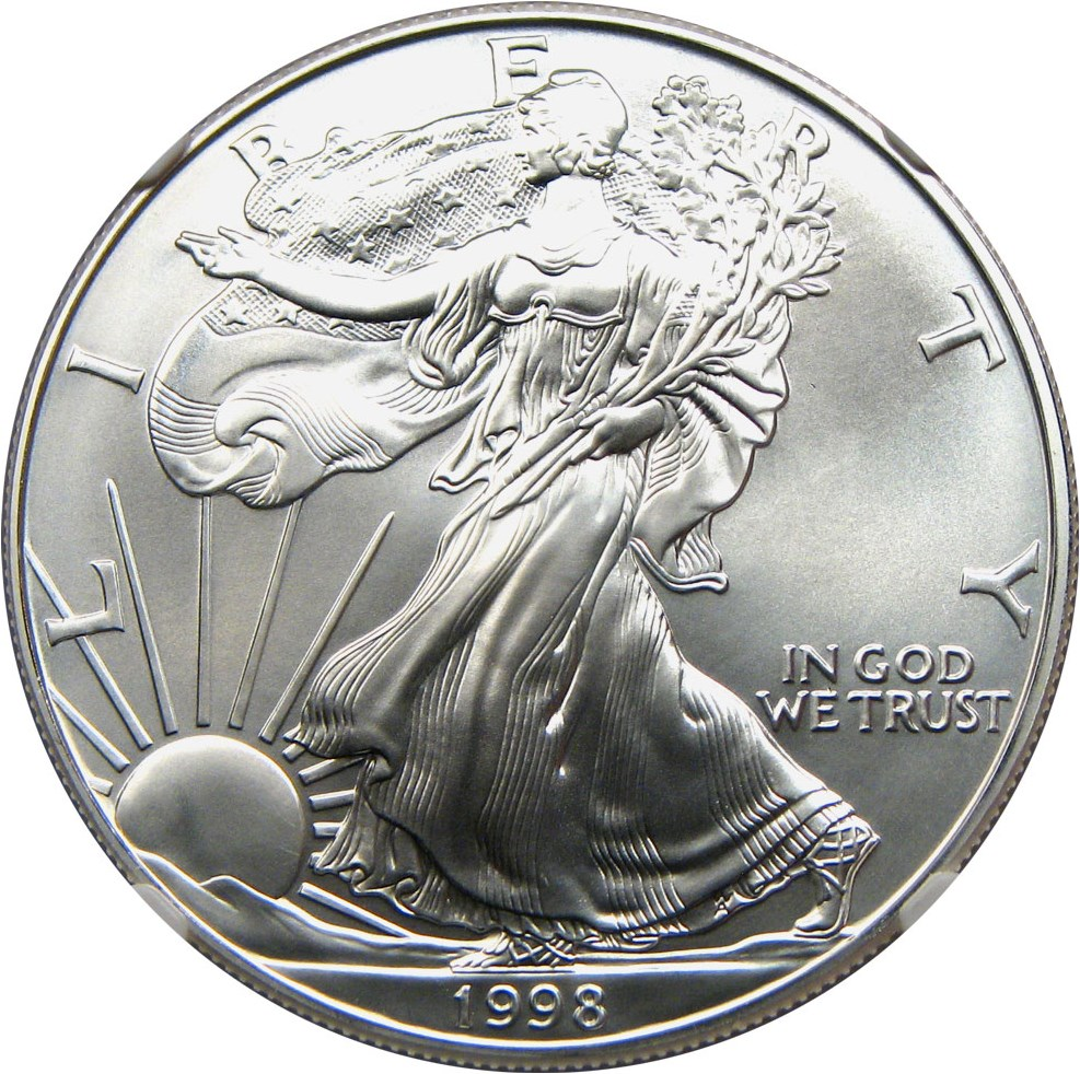 sample image for 1998 Silver Eagle $1  MS