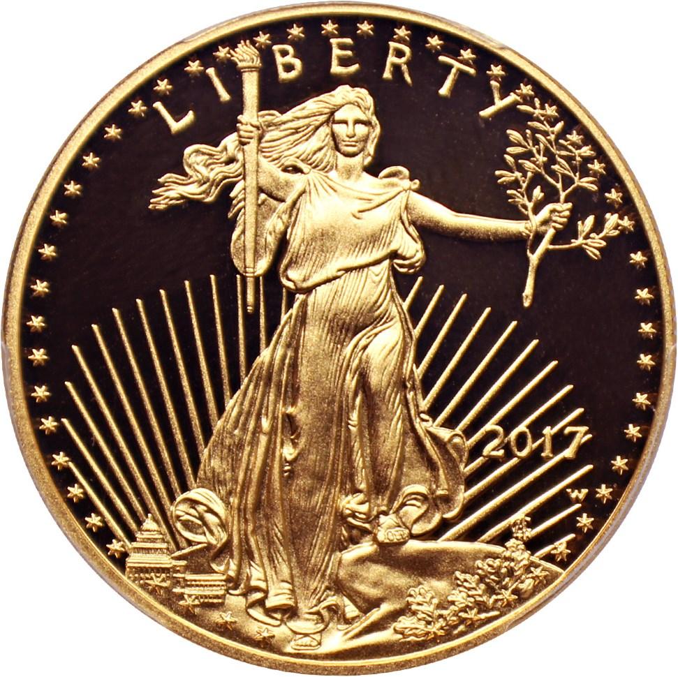sample image for 2010-W Gold Eagle $50  PR DCAM