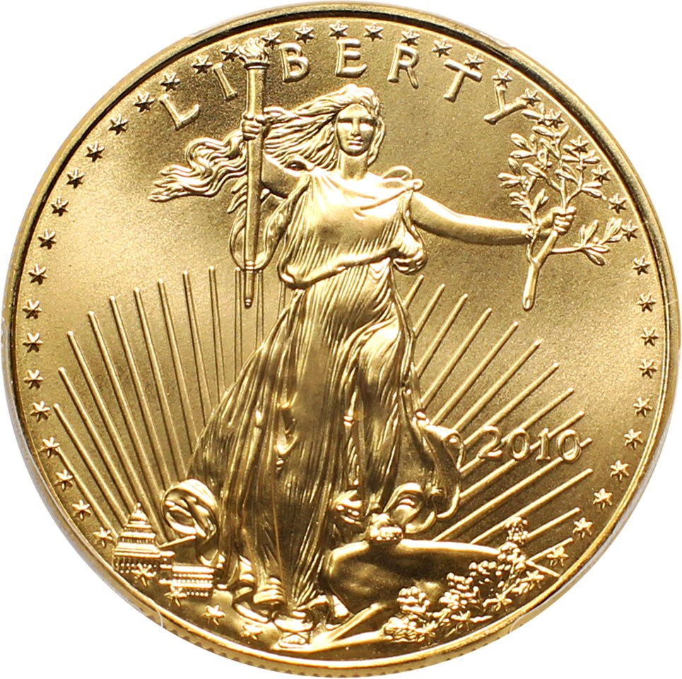 sample image for 2010 Gold Eagle $50  MS