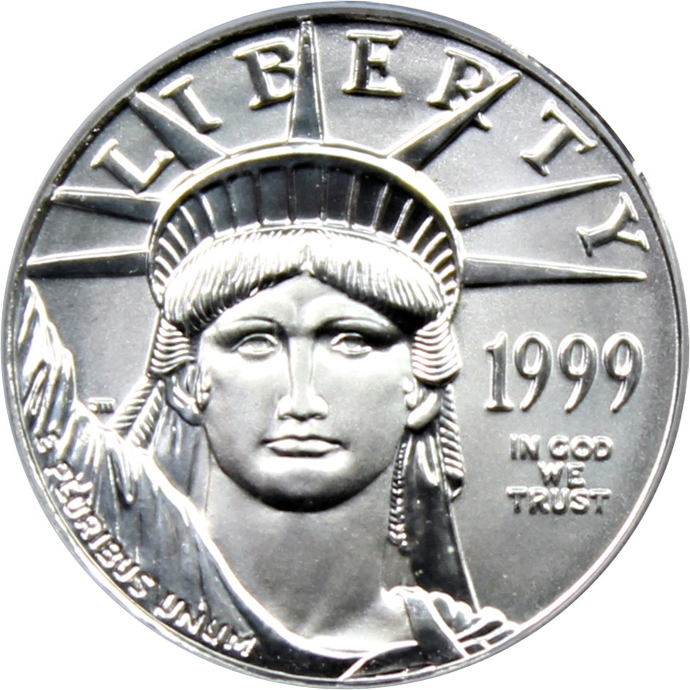 sample image for 1999 Platinum Eagle $10  MS