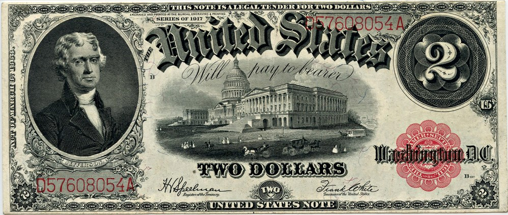 sample image for 1917 $2  (Fr.# 60)