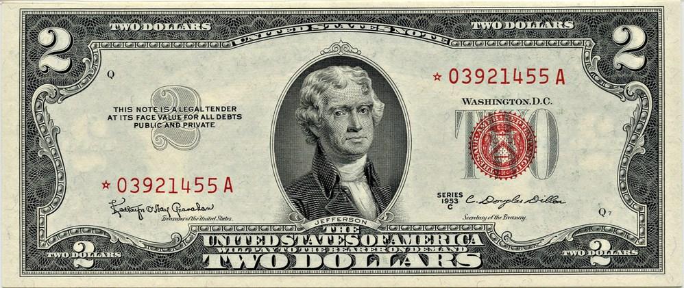 sample image for 1953C $2  (Fr.# 1512*)