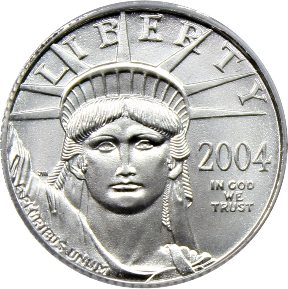 sample image for 2004 Platinum Eagle $10  MS