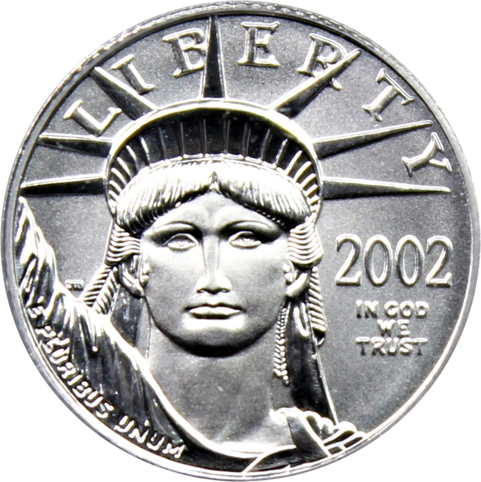 sample image for 2002 Platinum Eagle $10  MS