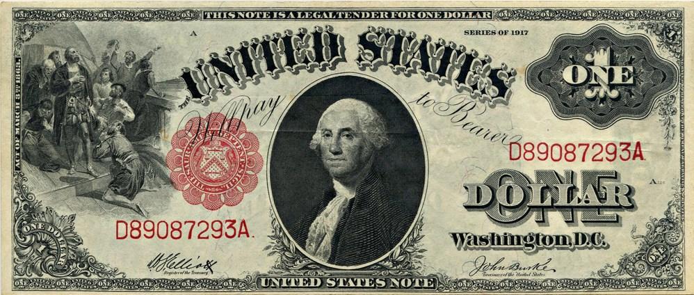 sample image for 1917 $1  (Fr.# 37)