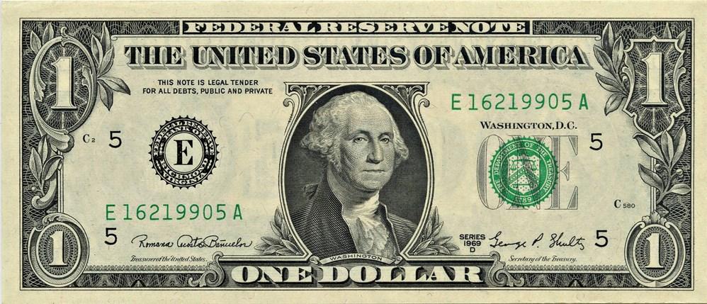 sample image for 1969D $1  Richmond (Fr.# 1907E)