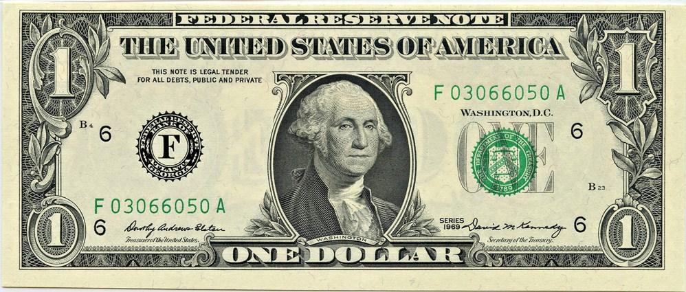 sample image for 1969 $1  Atlanta (Fr.# 1903F)