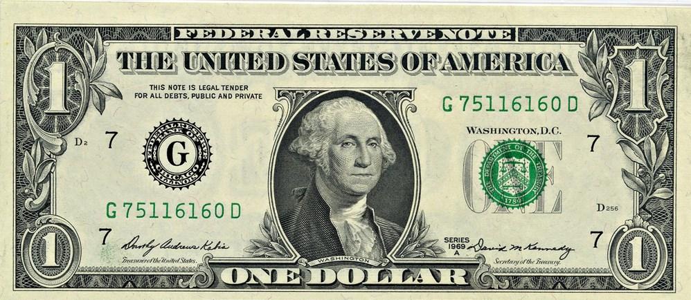 sample image for 1969A $1  Chicago (Fr.# 1904G)