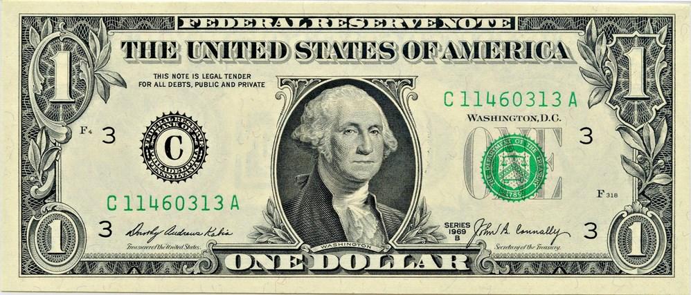 sample image for 1969B $1  Philadelphia (Fr.# 1905C)