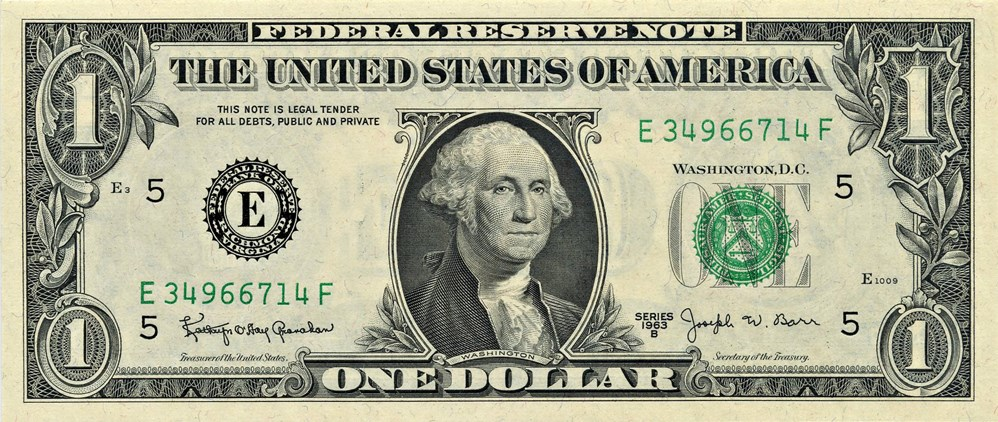 sample image for 1963B $1  Richmond (Fr.# 1902E)