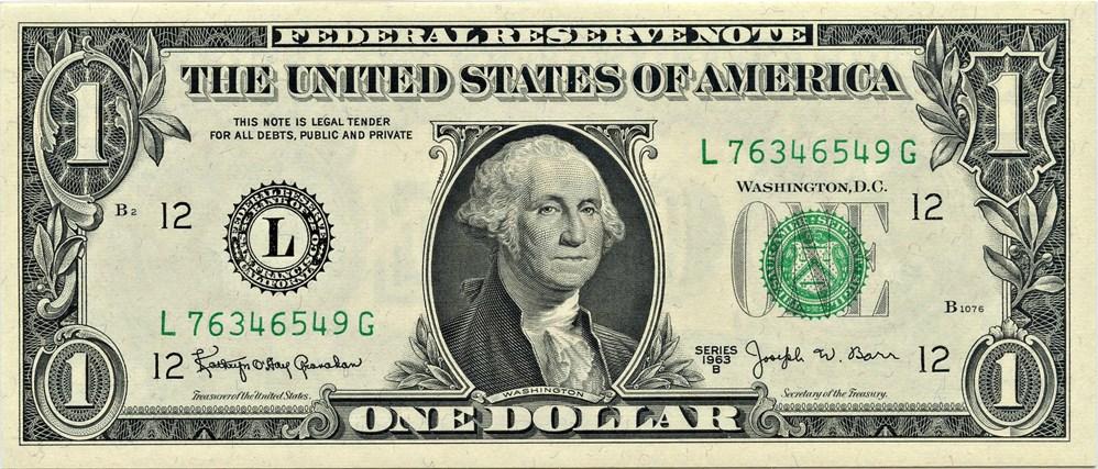 sample image for 1963B $1  San Francisco (Fr.# 1902L)